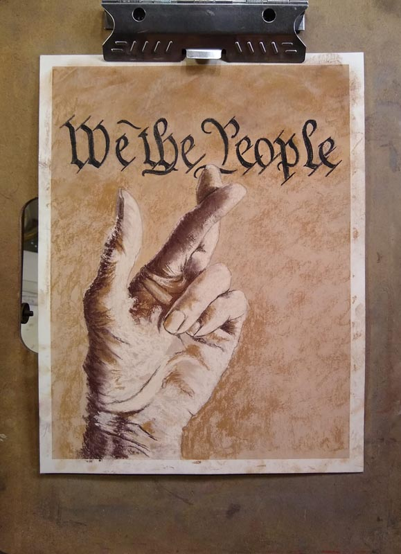 We The People by Cynthia Hayes