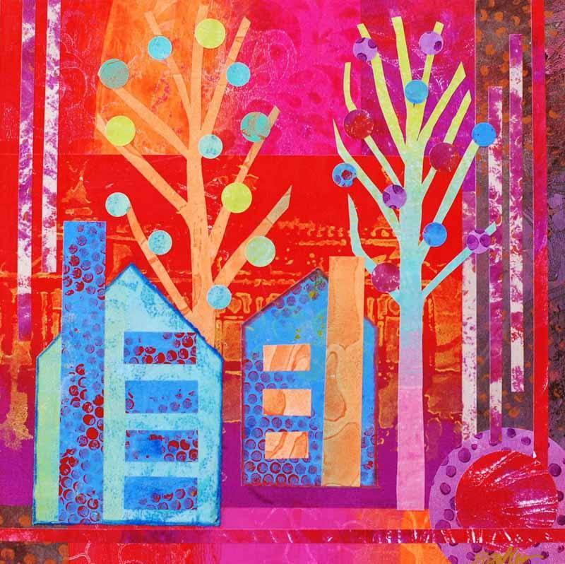 Day Five of the Ten Day Artist Challenge by Bonita Gohler