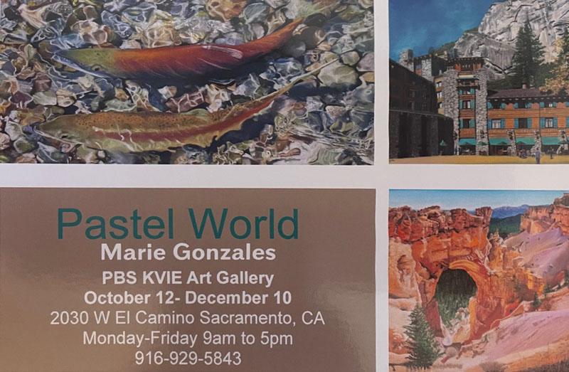 Marie Gonzales - KVIE Exhibit October 12-December 10