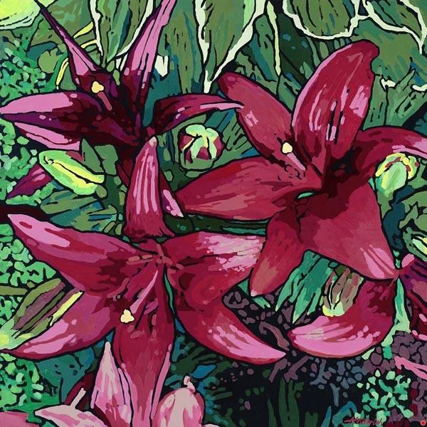 Lilies by Randy Honerlah