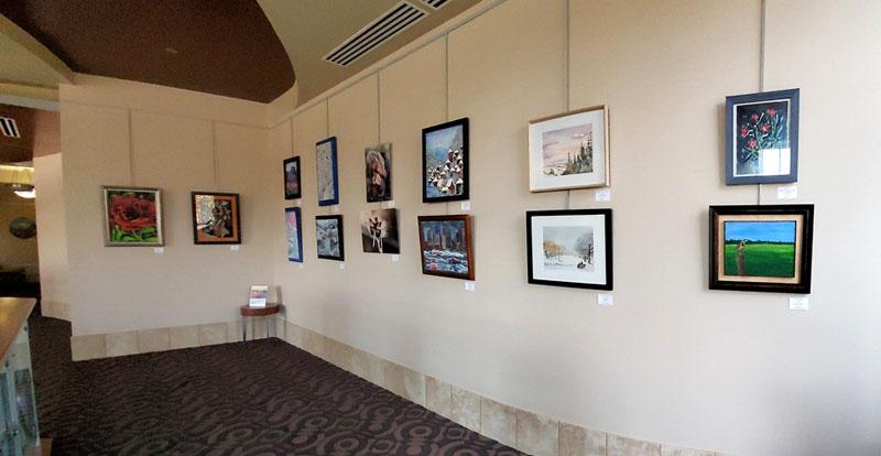 FAA Exhibit - Art League of Lincoln, City Hall Rotunda Gallery