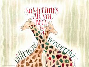 Giraffe quote by Phawnda Moore
