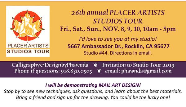 PAA 2019 Studios Tour with Phawnda Moore