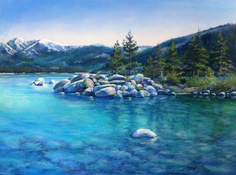 Morning Reflections by Lucinda Johnson