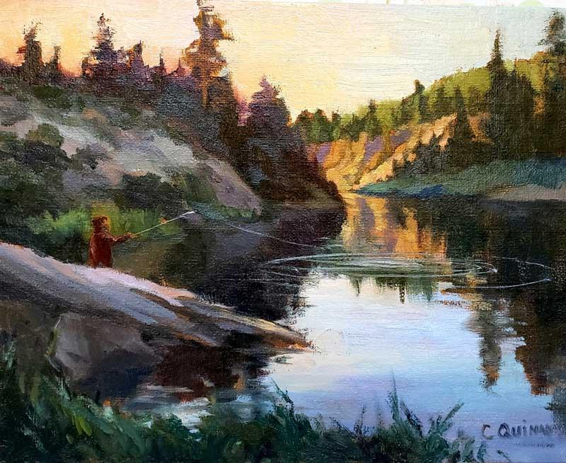 Evening Meditation by Carol Quinn