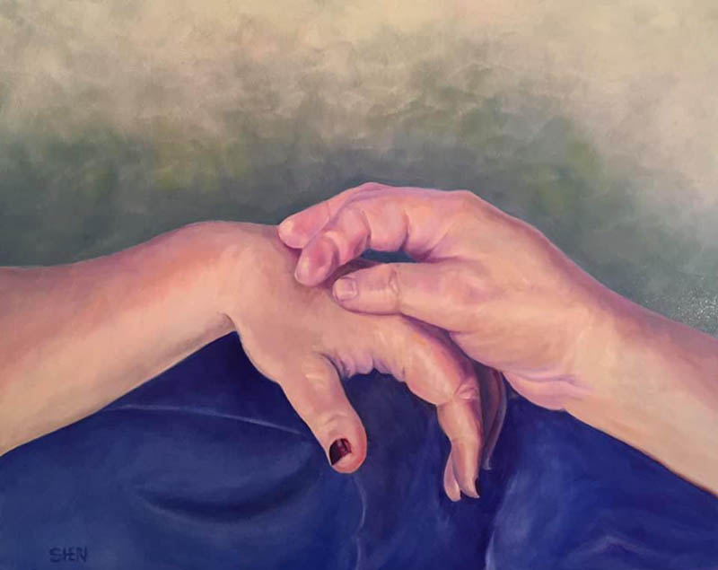 Touch of Hands by Sheri Hoeger