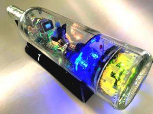 Spaceship In A Bottle by Greg Treseder